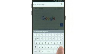 Cómo navegar en internet con tu Samsung Galaxy S7 de Verizon