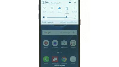 Configurar el Wi-Fi en tu Samsung Galaxy S7 de Verizon