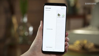 Samsung Galaxy S8 / S8+ People edge