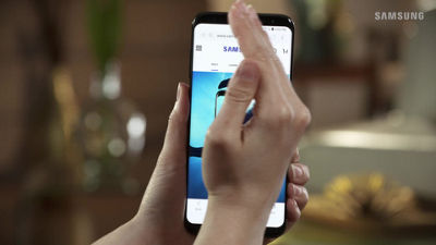Samsung Galaxy S8 / S8+ Taking A Screenshot