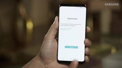 Setting Up Iris Security on Your Samsung Galaxy S8 / S8+
