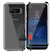 OtterBox Symmetry Clear Case Bundle for Galaxy S8+