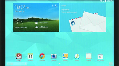 Email Setup on Your Samsung Galaxy Tab® 4 (10.1)