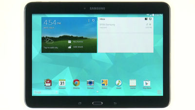 Lock Screen and Security on Your Samsung Galaxy Tab® 4 (10.1)