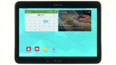 Navigating Your Samsung Galaxy Tab® 4 (10.1)