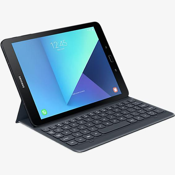 Keyboard Cover for Galaxy Tab S3 - Silver
