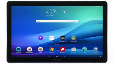 Managing the Lock Screen on Your Samsung Galaxy View from Verizon