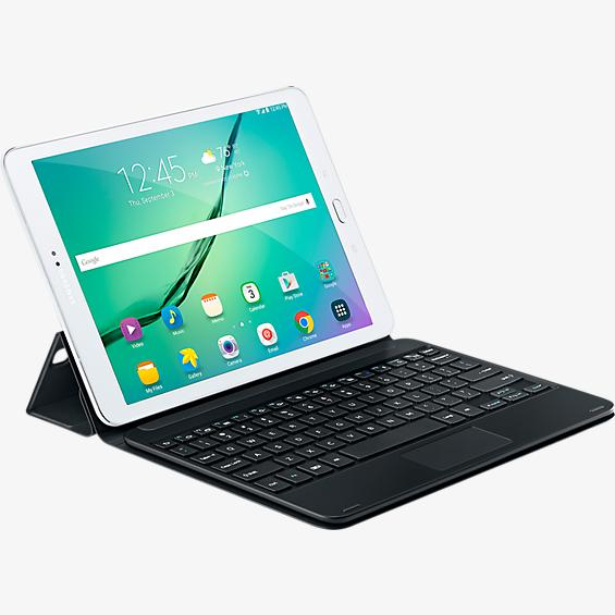 Keyboard Cover for Samsung Galaxy Tab S2 - Black