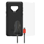 Otterbox Commuter, Protection and Car Charging Bundle for Galaxy Note9