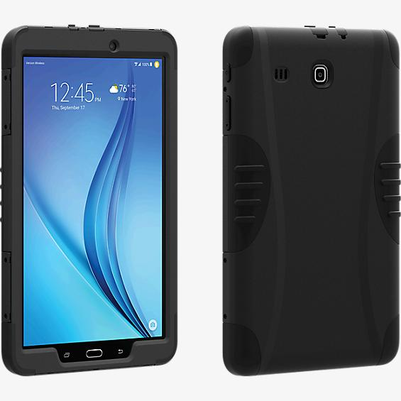 Rugged Case for Samsung Galaxy Tab E - Black