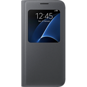 S View Cover for Samsung Galaxy S7 - Flat Black