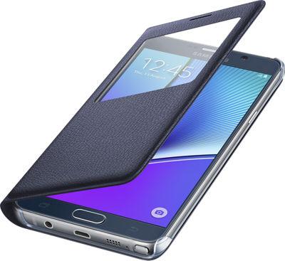 Verizon S-View Cover for Samsung Galaxy Note 5 - Black Sapphire
