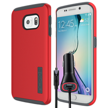 DualPro Bundle for Samsung Galaxy S 6 Edge - Red
