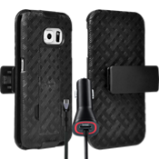 Shell Holster Bundle for Samsung Galaxy S 6 Edge