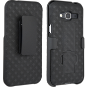 Shell Holster Combo for Galaxy J3 V - Black