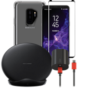 OtterBox Symmetry Wireless Charging, & Protection Bundle for Galaxy S9+