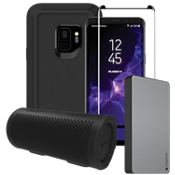 OtterBox Defender Power, Protection & Stereo Bundle for Galaxy S9