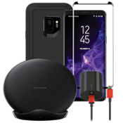 OtterBox Defender Wireless Charging, & Protection Bundle for Galaxy S9