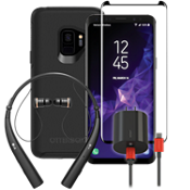 OtterBox Symmetry Power, Protection & Headset Bundle for Galaxy S9