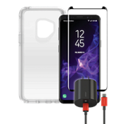 OtterBox Symmetry Clear Power, & Protection Bundle for Galaxy S9