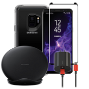 OtterBox Symmetry Clear Wireless Charging, & Protection Bundle for Galaxy S9
