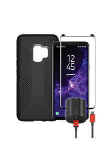 new products b169c 6d530 Speck Presidio Grip, Charge & Protection Bundle for Galaxy S9