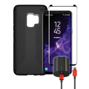 Speck Presidio Grip, Charge, & Protection Bundle for Galaxy S9