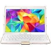 Samsung Tab S 10.5 Bluetooth Keyboard Case - Dazzling White