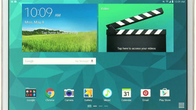 Samsung Galaxy Tab S - Navegación básica