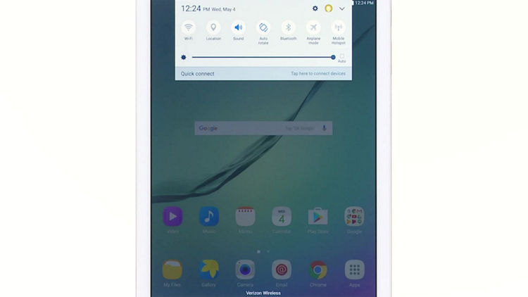 Setting up wi fi and bluetooth on your samsung galaxy tab s2 setting up wi fi and bluetooth on your samsung galaxy tab s2 verizon wireless greentooth Gallery