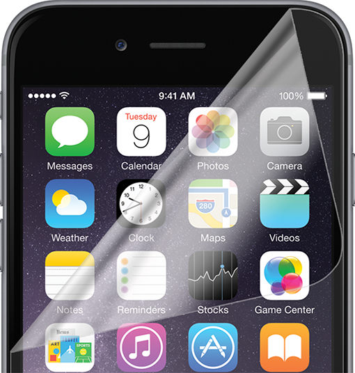 verizon anti scratch screen protectors for iphone 6 6s verizon wireless. Black Bedroom Furniture Sets. Home Design Ideas