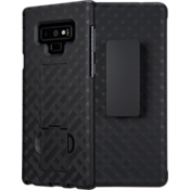 Shell Holster Combo Case for Galaxy Note9 - Black