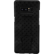 Shell Holster Combo Case for Galaxy Note8 - Black