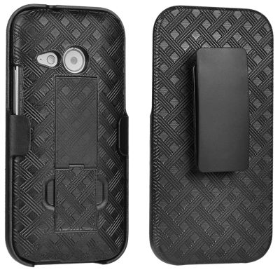 Verizon Shell Holster Combo for HTC One remix - Black