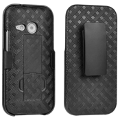 Shell Holster Combo for HTC One remix - Black