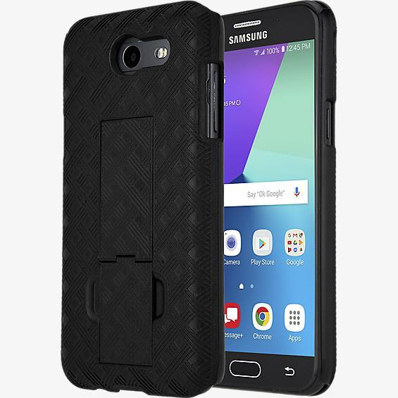 Shell Holster Combo for Galaxy J3 Eclipse