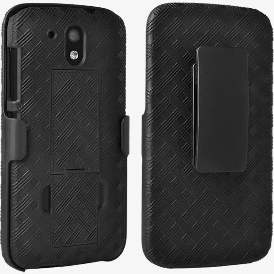 Shell Holster Combo with Kickstand for HTC Desire 526