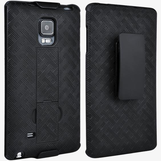 Shell Holster Combo with Kickstand for Samsung Galaxy Note Edge