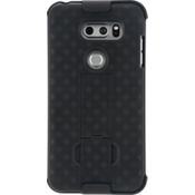 Shell Holster Combo for LG V30 - Black