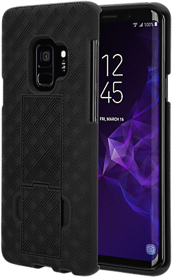 new arrival 6abdb 8360d Shell Holster Combo for Galaxy S9