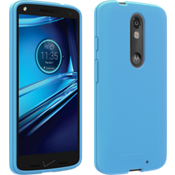 Silicone Cover for DROID Turbo 2 - Matte Blue