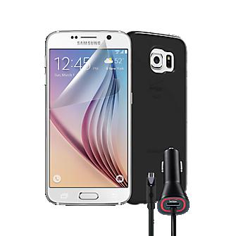 Silicone Bundle for Samsung Galaxy S 6 - Black