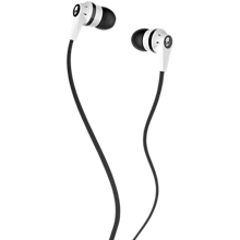 Skullcandy Ink'd 2.0 Earphones with Mic - White/Black