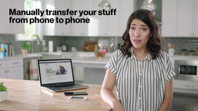 Opciones de copia de seguridad y transferencia de Android a Apple con activación básica inteligente