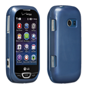 Snap on Cover for LG Extravert 2- Blue