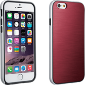 Soft Cover with Bumper for iPhone 6/6s - Marsala