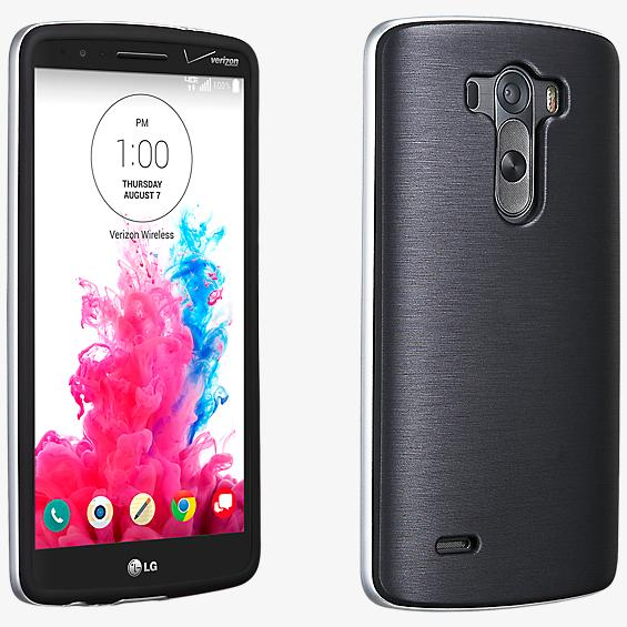 Soft Cover with Bumper for LG G3