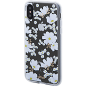 Clear Coat Case for iPhone XS/X - Ditsy Daisy