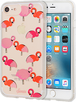 watch 04747 c131a ClearCoat Case for iPhone 7/6s/6- Flamingo