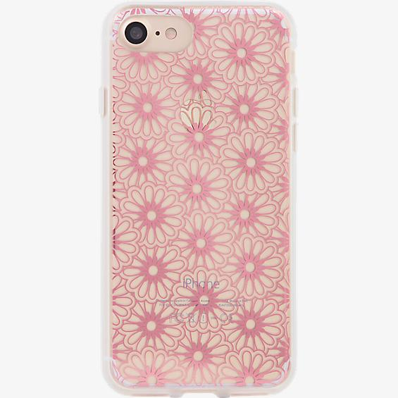 ClearCoat Case for iPhone 7 - Berry Lace/Pink